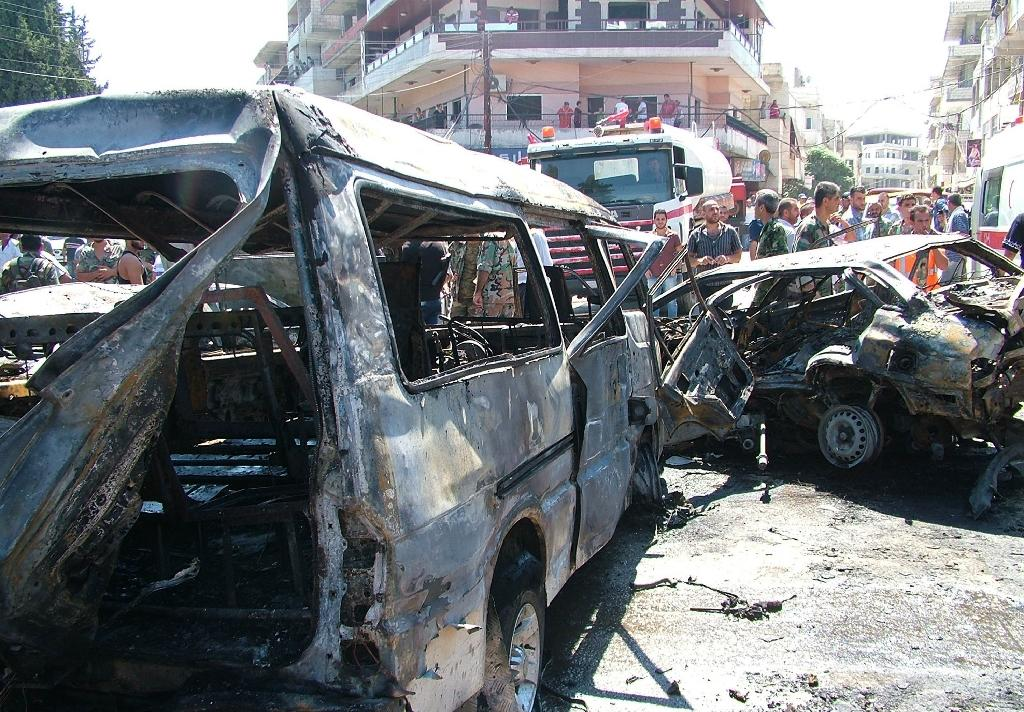 Car bomb kills 10 in Syria regime bastion Latakia