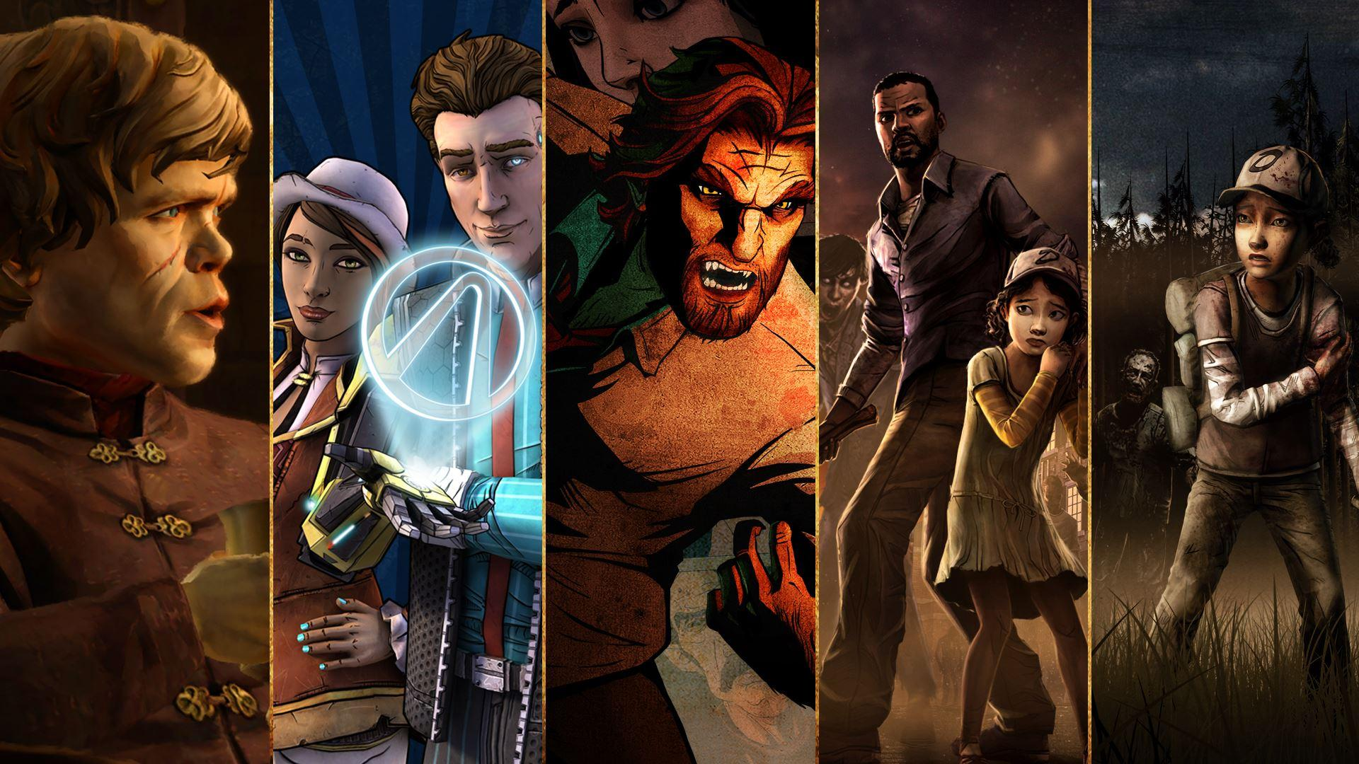 Xbox One's Telltale Game Collection Includes Game of Thrones, Walking Dead, and More