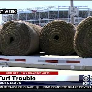 Sod Ripped Out At Levi's Stadium Again
