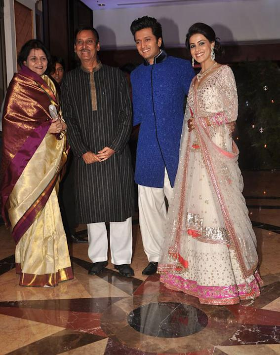 Riteish-Genelia Sangeet ceremony