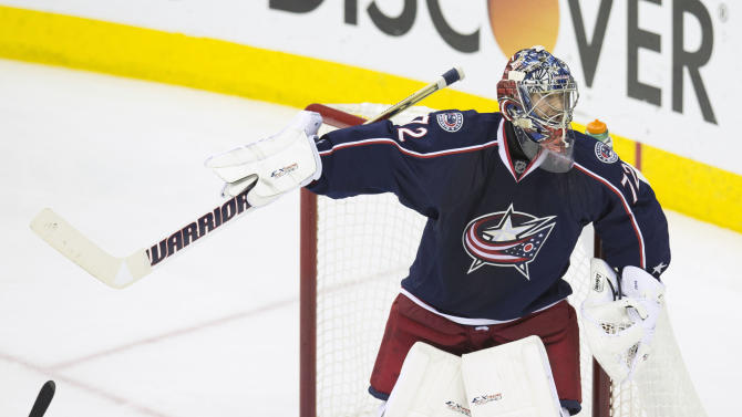NHL: Stanley Cup Playoffs-Pittsburgh Penguins at Columbus Blue Jackets