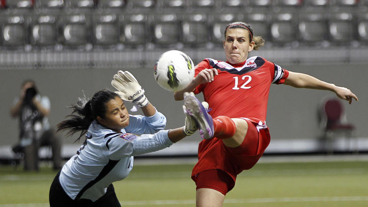 2012 CONCACAF Women's Olympic Qualifying - Canada v Costa Rica