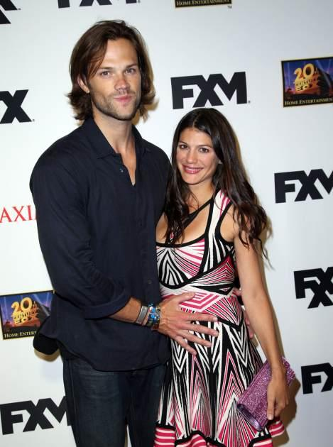 Jared Padalecki and wife Genevieve Padalecki -- Getty Images