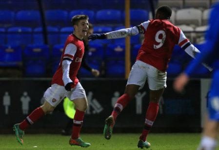 Soccer - FA Youth Cup - Fourth Round - Peterborough United v Arsenal - London Road