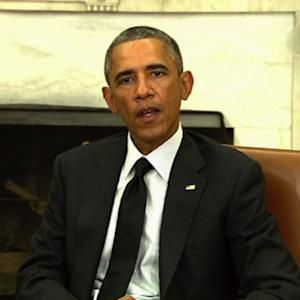 "Obama: U.S. supports Ukraine ""in words and in deeds"""