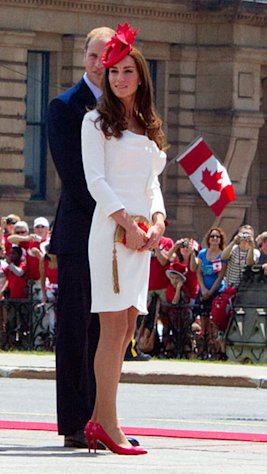 Prince William & Kate Middleton in Canada, summer 2011.