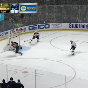 Niklas Svedberg Save on Marcus Foligno (14:48/2nd)