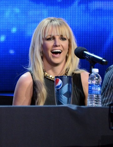 Britney Spears attends FOX's 'The X Factor' season finale news conference at CBS Television City on December 17, 2012 -- Getty Images