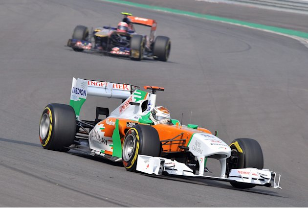 Force India-Mercedes driver…