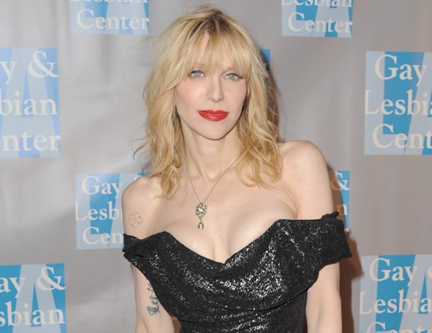 FILE - In this May 19, 2012 file photo, musician Courtney Love attends &quot;An Evening With Women,&quot; in Los Angeles. Loves former assistant sued the Hole front-woman on Tuesday, July 10, 2012 in Los Angeles, claiming the rocker owes her unpaid wages and asked her to perform unethical duties such as hiring a hacker and forge legal correspondence. (Photo by Jordan Strauss/Invision, File)