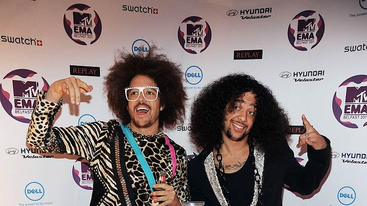 LMFAO MTV European Music Awards