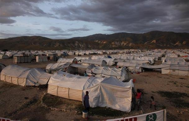 Haiti's tent cities