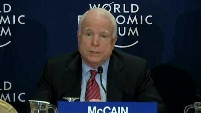 "McCain: Threats to Assad must have ""teeth"""