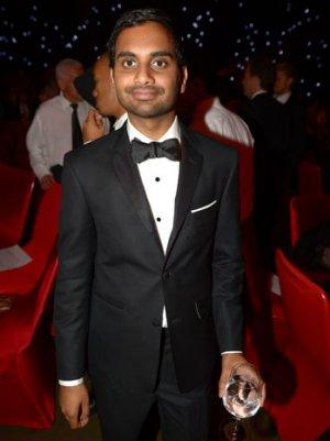 Aziz Ansari Spoofs the Red Carpet, Makes a Fashion Faux Pas and a New Dance