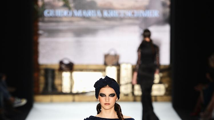 Guido Maria Kretschmer: Runway - Mercedes-Benz Fashion Week Spring/Summer 2013