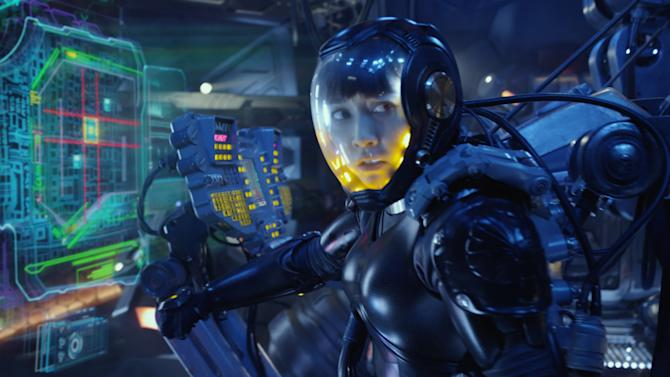 """Surprise! """"Pacific Rim 2"""" is on the way, and Rinko Kikuchi (pictured) could return to star"""