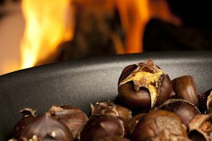 Chestnuts - the lowest calorie nuts ou there