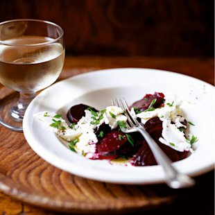 roast beetroot with feta