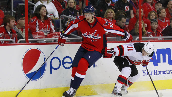 NHL: New Jersey Devils at Washington Capitals