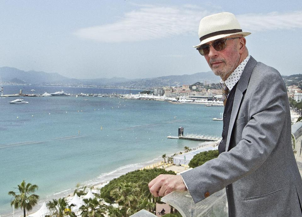 Director Jacques Audiard poses for portraits at the American Pavilion during the 65th international film festival, in Cannes, southern France, Saturday, May 19, 2012. (AP Photo/Joel Ryan)