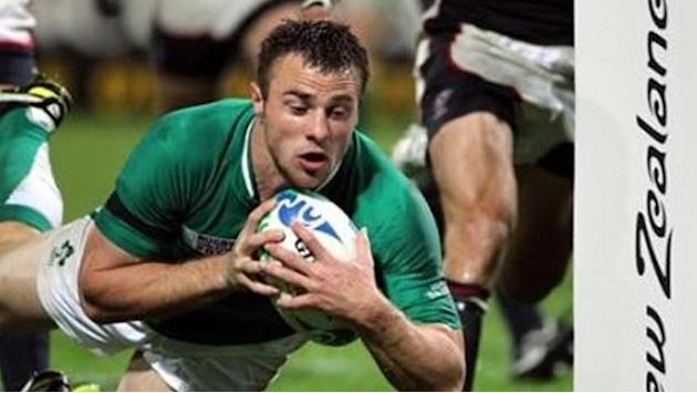 Six Nations - Ireland's Bowe ruled out of Six Nations