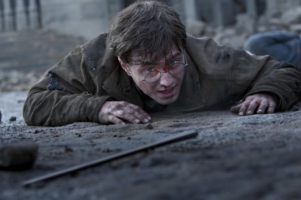 "In this film publicity image released by Warner Bros. Pictures, Daniel Radcliffe is shown in a scene from ""Harry Potter and the Deathly Hallows: Part 2."" (AP Photo/Warner Bros. Pictures, Jaap Buitendijk)"