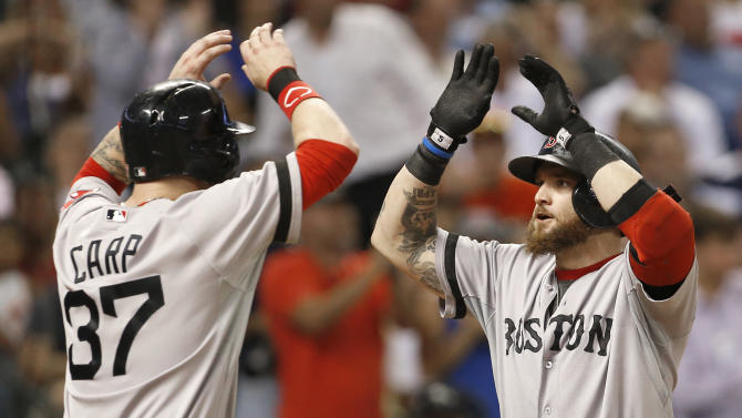 Drew's HR rallies Red Sox past Astros, 7-5
