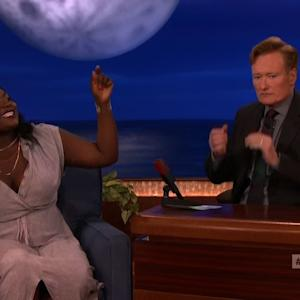 Taystee Does Rap From 'OITNB' and Shocks Conan