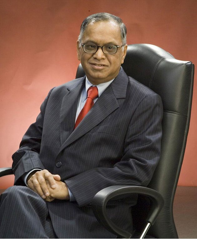 Another feather in the cap fr NR Narayana Murthy
