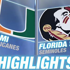 Miami vs Florida State | 2014-15 ACC Men's Basketball Highlights