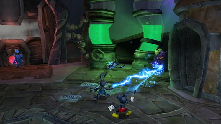 "In this vide game image released by Disney, a scene is shown from ""Epic Mickey 2."" (AP Photo/Disney)"