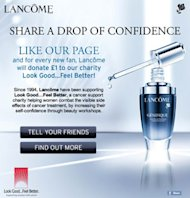 The beauty brand continue to support the Beauty Industrys charity