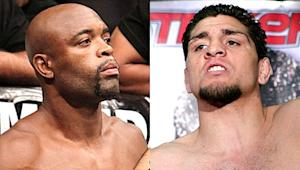 Anderson Silva and Nick Diaz are set to fight.