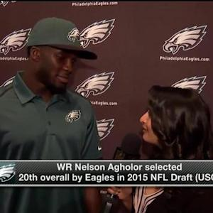 Wide receiver Nelson Agholor on Philadelphia Eagles' QB situation: 'They all bring different things to the table'