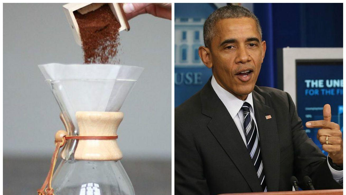 Obama Is So Hip, the White House Now Serves Chemex Coffee