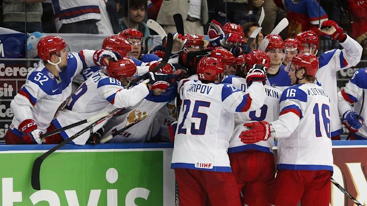 Russia beats Finland to win ice hockey worlds