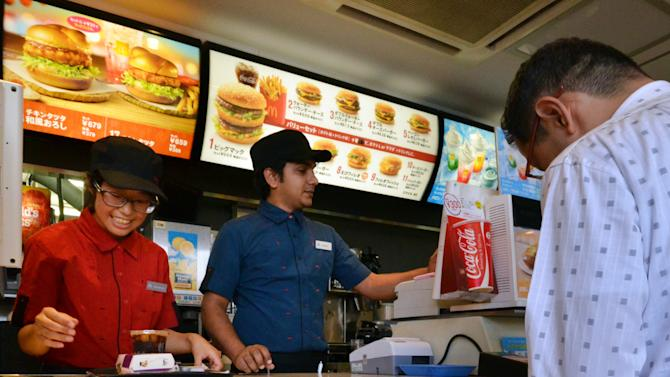 McDonald's says an emergency airlift has eased a french fries shortage in Japan which forced the chain to ration the crispy treat at more than 3,000 restaurants across the country
