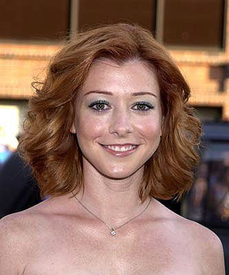 Premiere: Alyson Hannigan at the Westwood premiere of Universal's American Pie 2 - 2001