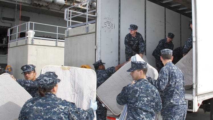 Navy sending fewer ship mattresses to landfills