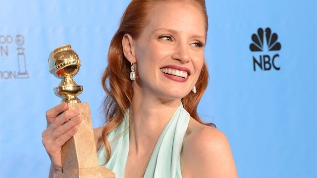 Oscar hopeful Jessica Chastain talks new thriller