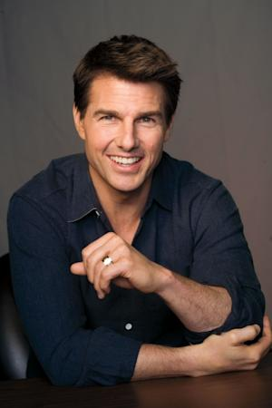 Tom Cruise in the June 2012 issue of Playboy -- Playboy/David Rose