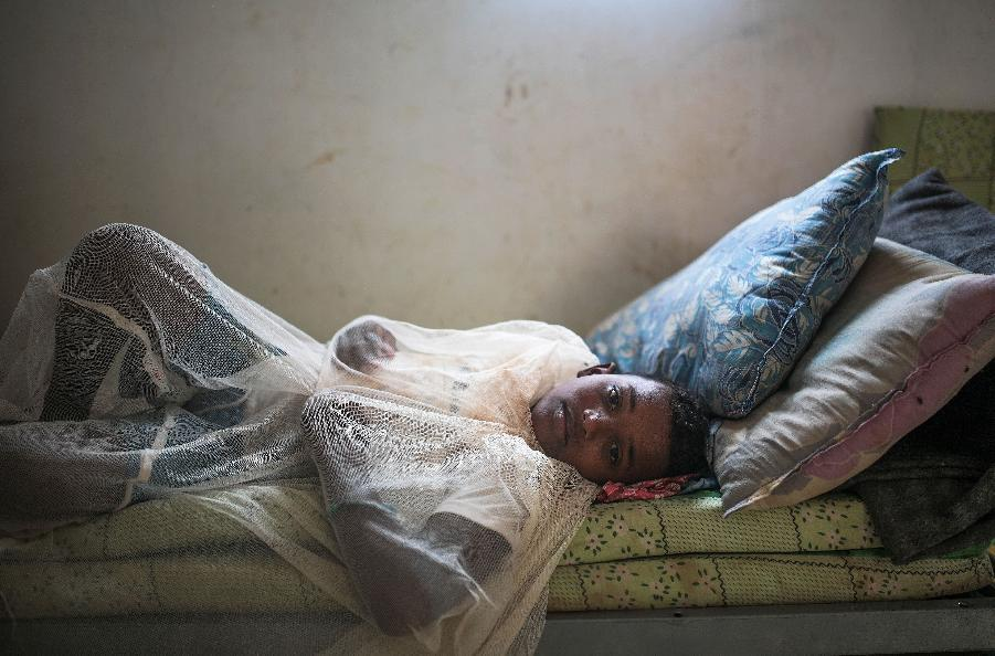 AP PHOTOS: Fleeing Yemen war, thousands stuck in Djibouti