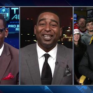 Michael Irvin, Cris Carter fight over Pittsburgh Steelers' Antonio Brown as Pro Bowl receiver