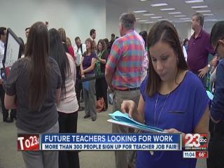 Hundreds of People Applying For Teaching Jobs