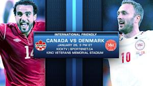 Preview: Canada tune up for US with friendly vs. Denmark
