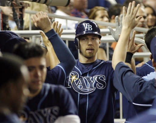 Rays beats Marlins 13-4