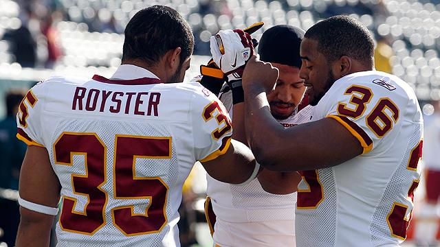 Redskins backfield in question