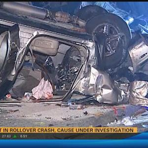 Two injured in Oceanside rollover crash 4:30 a.m.