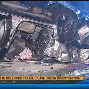 Two injured in Oceanside rollover crash 4:30 a.m.