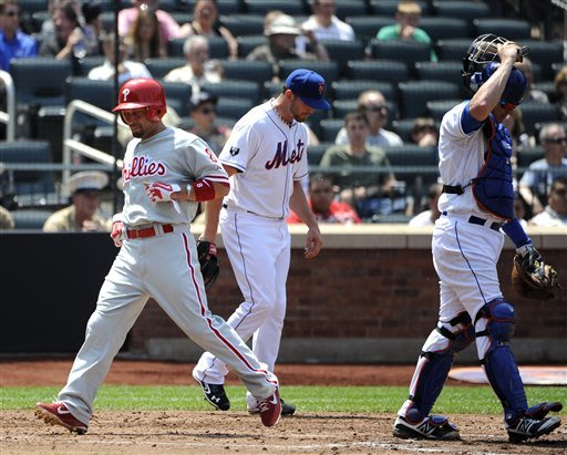 Wigginton's 6 RBIs send Hamels, Phillies past Mets